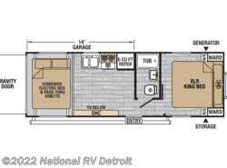 New 2018  Forest River XLR Nitro 23KW by Forest River from National RV Detroit in Belleville, MI