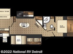 New 2018  Palomino Solaire Ultra Lite 312TSQBK by Palomino from National RV Detroit in Belleville, MI