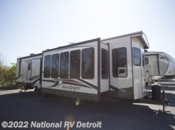 New 2018  Forest River Sandpiper Destination 401FLX by Forest River from National RV Detroit in Belleville, MI