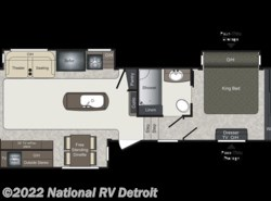 New 2018  Keystone Laredo 325RL by Keystone from National RV Detroit in Belleville, MI