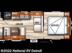 New 2018  Forest River Salem Cruise Lite 241QBXL by Forest River from National RV Detroit in Belleville, MI