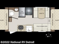 New 2018  Keystone Bullet Crossfire 1650EX by Keystone from National RV Detroit in Belleville, MI