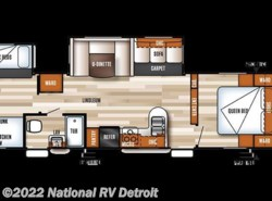 New 2018  Forest River Salem 32BHDS by Forest River from National RV Detroit in Belleville, MI