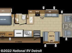 New 2018  Jayco Precept 31UL by Jayco from National RV Detroit in Belleville, MI