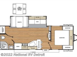 New 2018  Coachmen Catalina Legacy Edition 243RBS by Coachmen from National RV Detroit in Belleville, MI