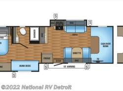 New 2018  Jayco Greyhawk 31FS by Jayco from National RV Detroit in Belleville, MI