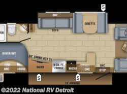 New 2018  Jayco Redhawk 25R by Jayco from National RV Detroit in Belleville, MI