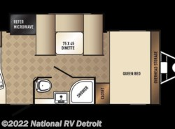 New 2018  Palomino PaloMini 178RK by Palomino from National RV Detroit in Belleville, MI