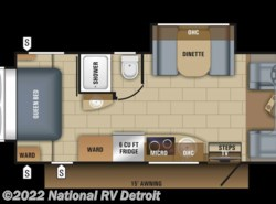 New 2018  Jayco Melbourne Prestige 24KP by Jayco from National RV Detroit in Belleville, MI