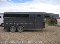 Used 2014  Circle W  Circle D 4 Horse Slant Load by Circle W from Northern Hills Homes and RV's in Whitewood, SD