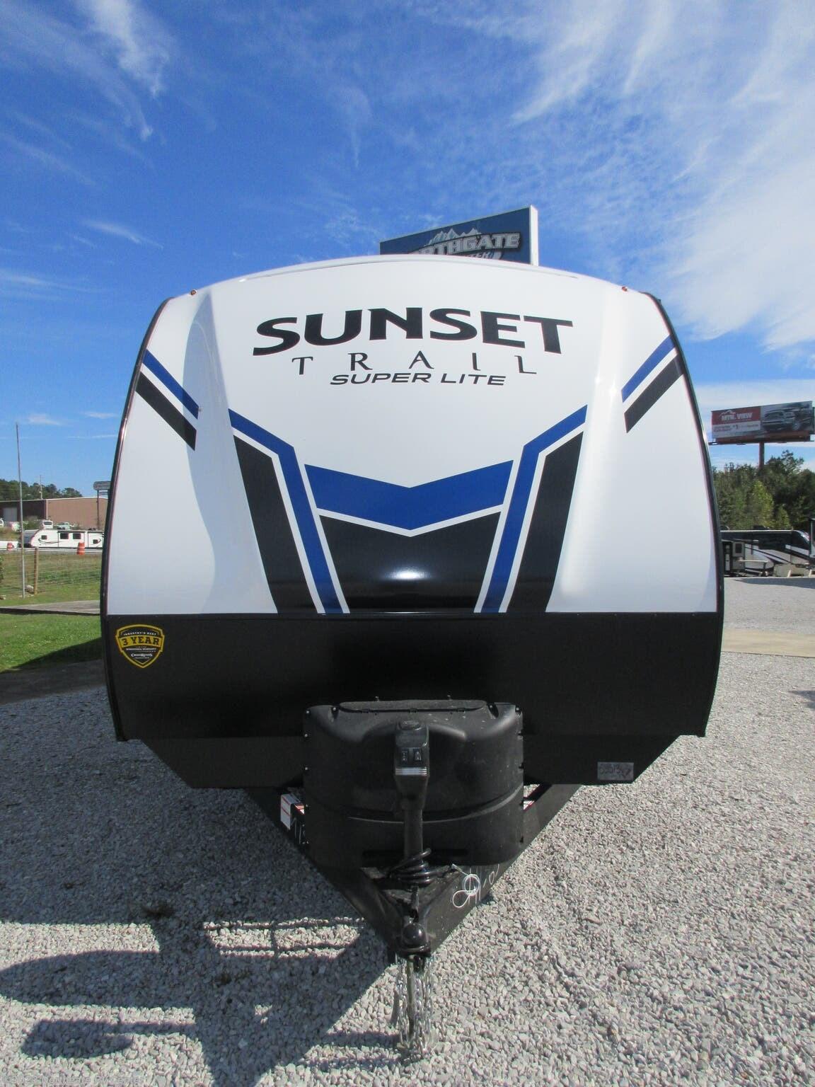 2021 CrossRoads Sunset Trail Super Lite 332QB