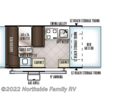 New 2018  Forest River Flagstaff 206STSE by Forest River from Northside Family RV in Lexington, KY