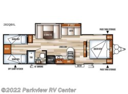 New 2018  Forest River Salem Cruise Lite 282QBXL by Forest River from Parkview RV Center in Smyrna, DE