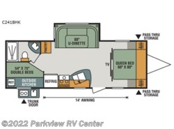 New 2017  K-Z Connect C241BHK by K-Z from Parkview RV Center in Smyrna, DE