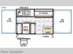 New 2018  Forest River Flagstaff SE 207SE by Forest River from Campers Inn RV in Tucker, GA