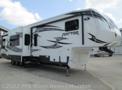 Used 2013  Keystone Raptor 410LEV by Keystone from PPL Motor Homes in Houston, TX