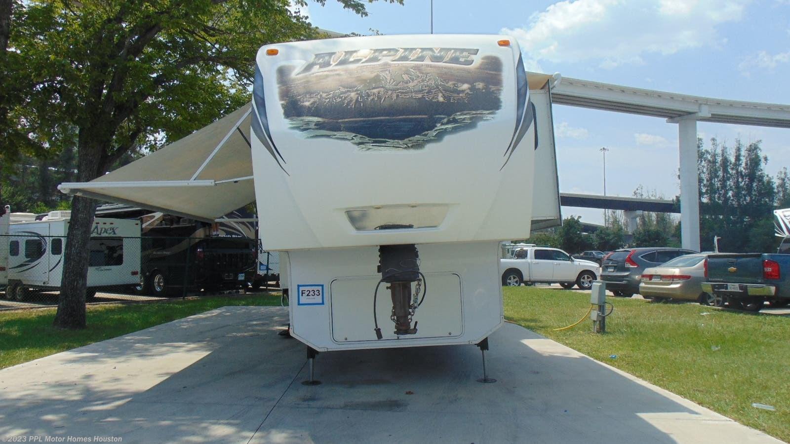 Keystone Fifth Wheel Dealer Houston Tx >> 2013 Keystone Rv Alpine 3600re For Sale In Houston Tx 77074 F233