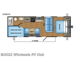 New 2017  Jayco Jay Flight SLX 264BHW by Jayco from Wholesale RV Club in Ohio