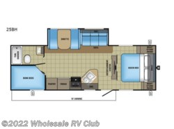 New 2017  Jayco Jay Feather 25BH by Jayco from Wholesale RV Club in Ohio