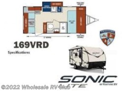 New 2018  Venture RV Sonic 169VRD by Venture RV from Wholesale RV Club in Ohio