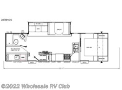 New 2018  Coachmen Freedom Express 287BHDS by Coachmen from Wholesale RV Club in Ohio
