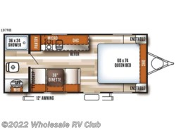 New 2018  Forest River Salem Cruise Lite FSX 187RB by Forest River from Wholesale RV Club in Ohio