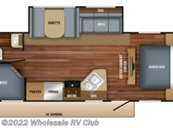 New 2018  Jayco Jay Feather 25BH by Jayco from Wholesale RV Club in Ohio