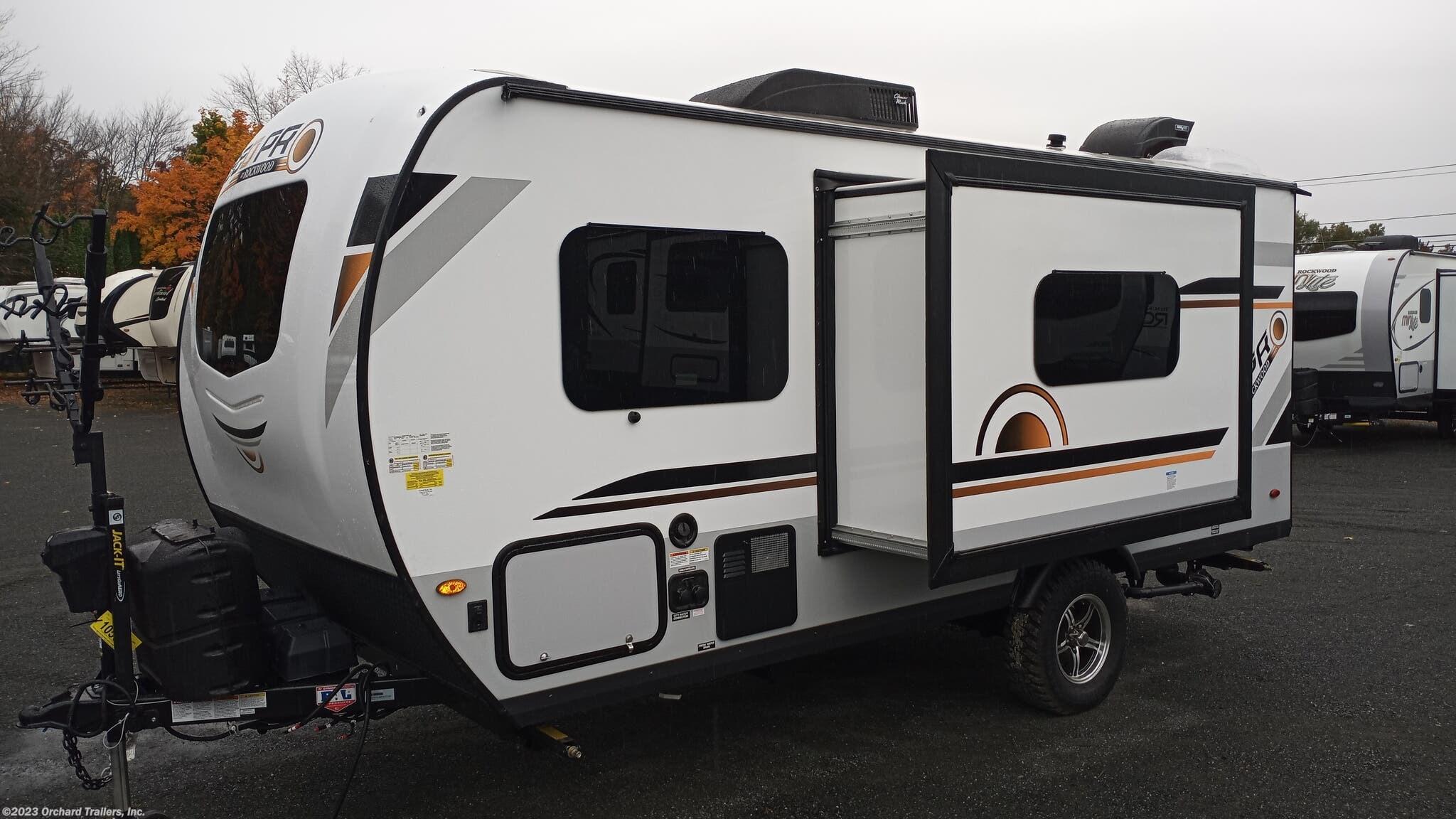 Travel Trailer - 2021 Forest River Rockwood Geo Pro G19FBS ...