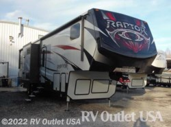 Used 2017  Keystone Raptor 352TS by Keystone from RV Outlet USA in Ringgold, VA