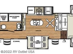 New 2019  Forest River Sandpiper 379FLOK by Forest River from RV Outlet USA in Ringgold, VA