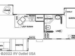 Used 2009  Forest River Cedar Creek 34SATS by Forest River from RV Outlet USA in Ringgold, VA