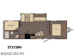 New 2016  CrossRoads Z-1 ZT272BH by CrossRoads from i94 RV in Wadsworth, IL