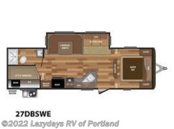 New 2018  Keystone Hideout Luxury 27DBSWE by Keystone from B Young RV in Milwaukie, OR