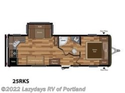New 2018  Keystone Hideout 25RKS by Keystone from B Young RV in Milwaukie, OR