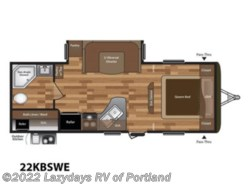 New 2019  Keystone Hideout 22KBSWE by Keystone from B Young RV in Milwaukie, OR
