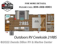 New 2018  Outdoors RV  Outdoors Rv Creekside 21Rbs by Outdoors RV from Dennis Dillon RV & Marine Center in Boise, ID