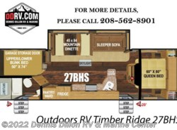 New 2018  Outdoors RV Timber Ridge 27Bhs by Outdoors RV from Dennis Dillon RV & Marine Center in Boise, ID