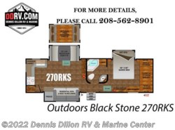 New 2018  Outdoors RV Black Stone 270Rks by Outdoors RV from Dennis Dillon RV & Marine Center in Boise, ID