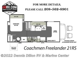 New 2018  Coachmen Freelander  21Rs by Coachmen from Dennis Dillon RV & Marine Center in Boise, ID