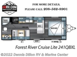 New 2018  Forest River  Cruise Lite 241Qbxl by Forest River from Dennis Dillon RV & Marine Center in Boise, ID