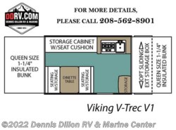 New 2018  Viking V-Trec V1 by Viking from Dennis Dillon RV & Marine Center in Boise, ID