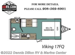 New 2018  Viking  17Sfqsaga by Viking from Dennis Dillon RV & Marine Center in Boise, ID