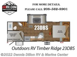 New 2018  Outdoors RV Timber Ridge 23Dbs by Outdoors RV from Dennis Dillon RV & Marine Center in Boise, ID