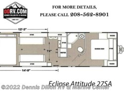 New 2019  Eclipse Attitude 27Sa by Eclipse from Dennis Dillon RV & Marine Center in Boise, ID