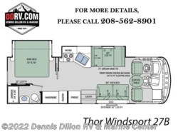 New 2018  Thor Motor Coach Windsport 27B by Thor Motor Coach from Dennis Dillon RV & Marine Center in Boise, ID