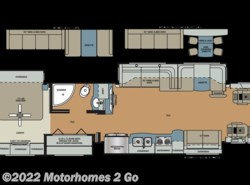 Used 2017  Forest River Berkshire XLT 43B by Forest River from Motorhomes 2 Go in Grand Rapids, MI