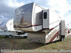 New 2017  Forest River RiverStone 38MB by Forest River from Great Escapes RV Center in Gassville, AR
