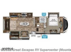 New 2019  Grand Design Reflection 337RLS by Grand Design from Great Escapes RV Supercenter in Gassville, AR