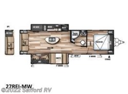 New 2017  Forest River Wildwood 27REI by Forest River from Safford RV in Thornburg, VA