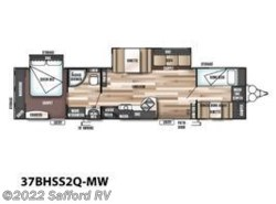 New 2017  Forest River Wildwood 37BHSS2Q by Forest River from Safford RV in Thornburg, VA